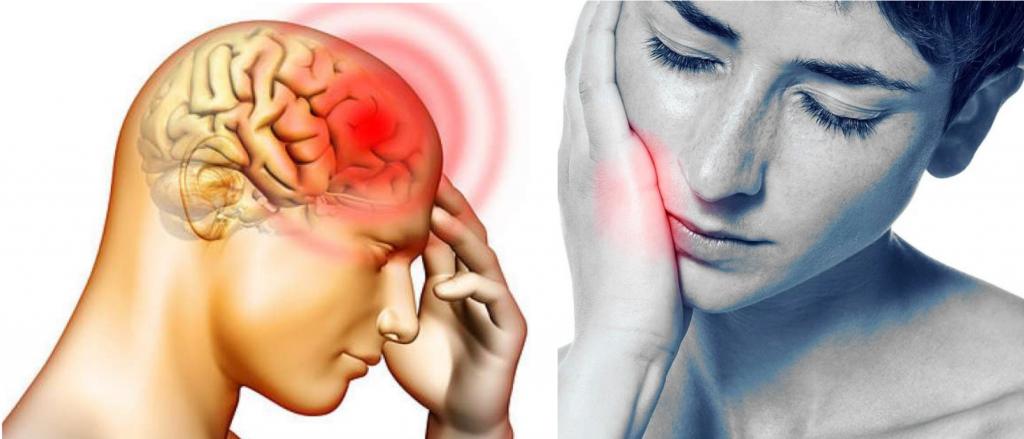 headache toothache
